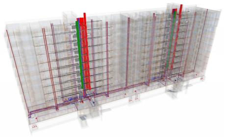 Collisions of general utilities designing through the use of BIM-platforms