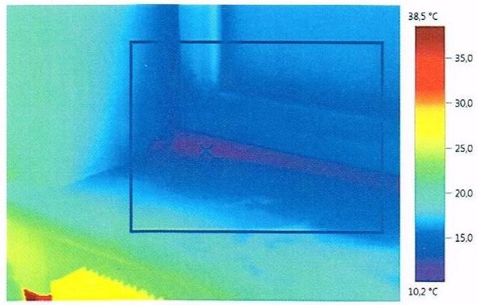 Influence of placement of the window block on wall thickness on heat losses